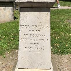 Granary Burial Ground - Paul Revere